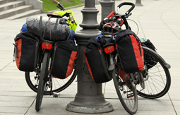 panniers and racks