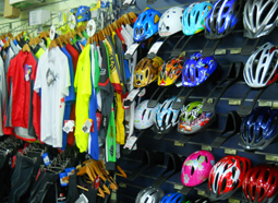 Shop - helmets and clothing