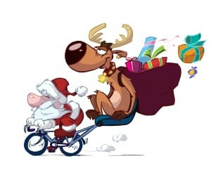 Huzzah! It's Christmas So Get On Yer Bike!