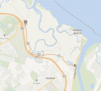 Bondall Map