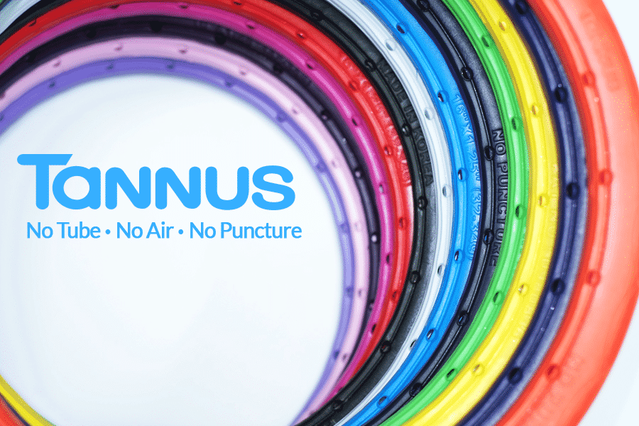 Forget Flats - We stock puncture proof Tannus® Tyres
