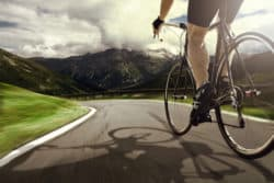 Choose The Right Bike Size - Cyclist On Road